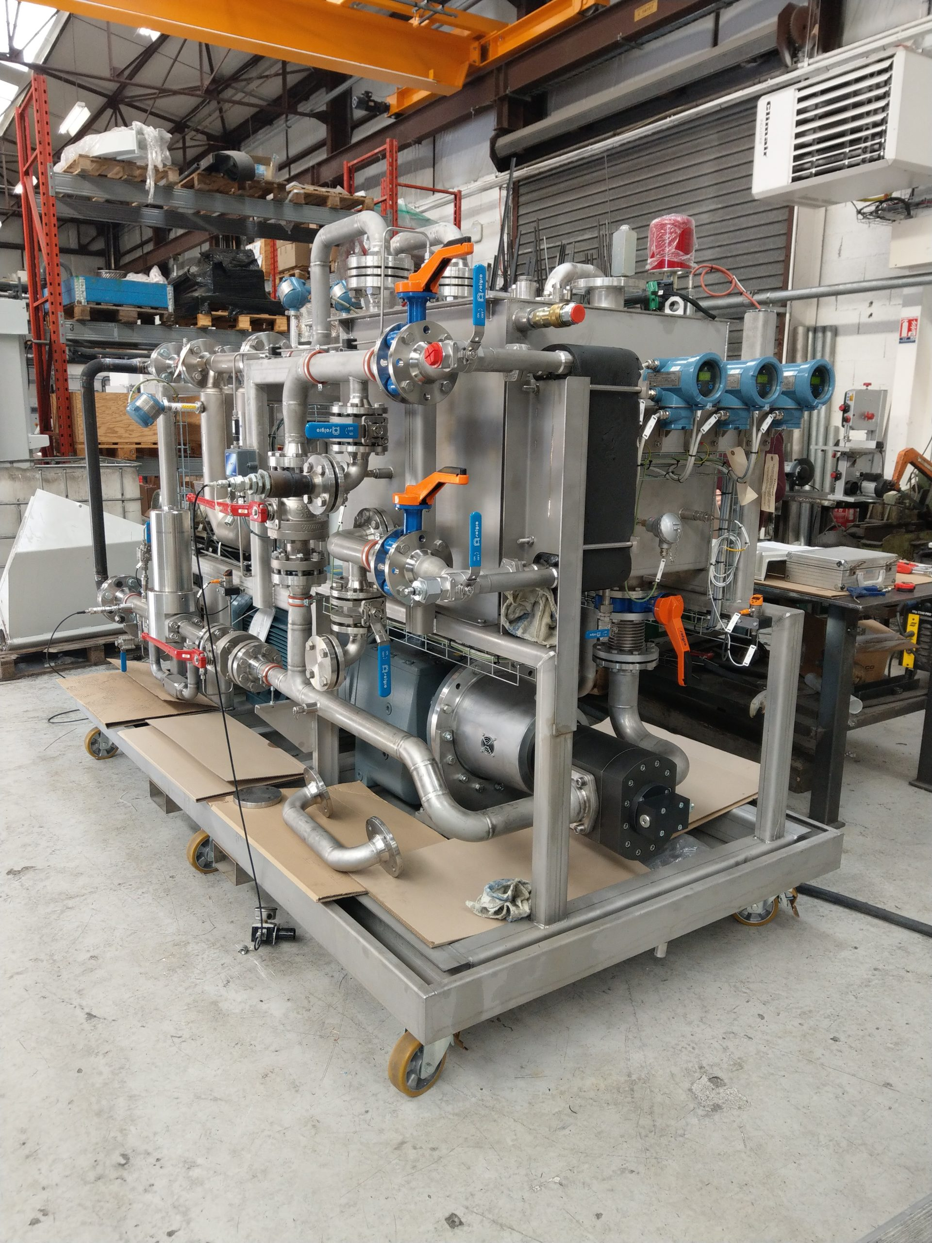 Read more about the article RECEPTION OF THE VOLTAYRE HYDRAULIC UNIT